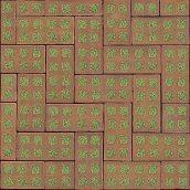 Клинкерная брусчатка Muhr Klinker 08 Rasenklinker Lachsrot 240х115х75 мм
