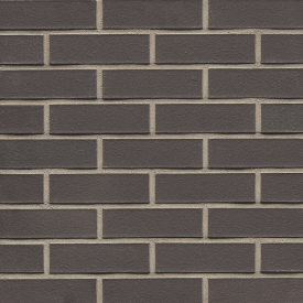Клінкерна облицювальна цегла Muhr 05 Eisenschmelz schwarzbraun glatt 240x115x71 мм