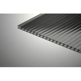 Сотовый поликарбонат Oscar 4х2100х6000 мм черный