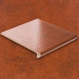 Плитка для ступеней АВС-Klinkergruppe Granit Rot 335х240х10 мм