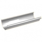 Желоб Galeco PVC110 110 мм 4 м (RE110-RY400-G) (RAL9010/белоснежный)