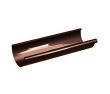 Желоб Galeco PVC130 130 мм 4 м (RE130-RY400-G) (RAL8017/шоколадный)