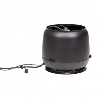 Вентилятор VILPE ECo190 S 125 мм (черный)