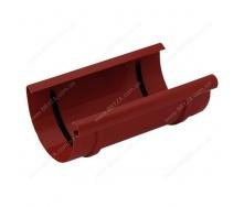Муфта желоба Bryza 125 240 мм красный RAL 3011