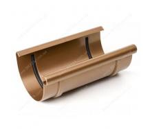 Муфта желоба Bryza 125 240 мм медный