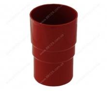 Муфта трубы Bryza 125 90,2х145х84,5 мм красный RAL 3011