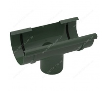 Воронка желоба Bryza 125 125х94х280х90 мм зеленая RAL 6020