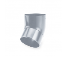 Колено 45° Galeco SP100 100 мм (SP100-TR045-P) (RAL7038/серый агат)