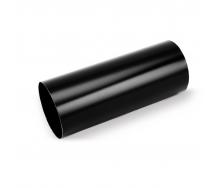 Водосточная труба Galeco STAL135 100 мм 3 м (SS100-RU300-G) (RAL9005/черный RR33)