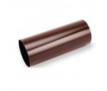 Водосточная труба Galeco STAL135 100 мм 3 м (SS100-RU300-G) (RAL8017/шоколадный)
