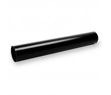 Водосточная труба Galeco STAL135 90 мм 3 м (SS090-RU300-G) (RAL9005/черный RR33)