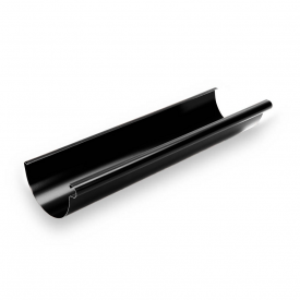 Металлическая водосточка Galeco STAL135 135 мм 3 м RS135-RY300-G RAL9005/черный RR33