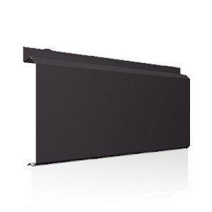 Фасадна лінійна система Ruukki Lamella CL10 1,5 мм (RAL8019/сіро-коричневий)