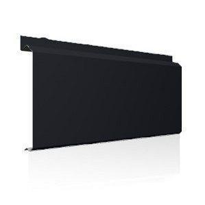 Фасадна лінійна система Ruukki Lamella CL10 1,5 мм (RAL9004/сигнально-чорний)