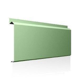 Фасадна лінійна система Ruukki Lamella CL10 1,5 мм (RAL6021/блідно-зелений)