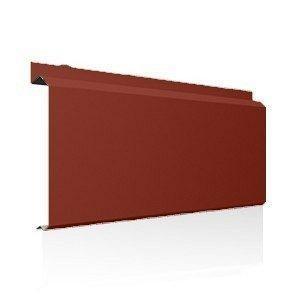 Фасадна лінійна система Ruukki Lamella CL10 1,5 мм (RAL8004/мідно-коричневий)