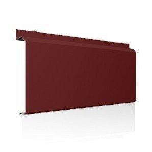 Фасадна лінійна система Ruukki Lamella CL20 1,5 мм (RAL3009/оксид червоний)