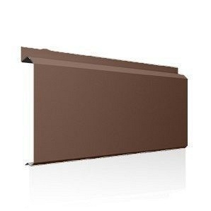 Фасадна лінійна система Ruukki Lamella CL20 1,5 мм (RAL8025/блідно-коричневий)