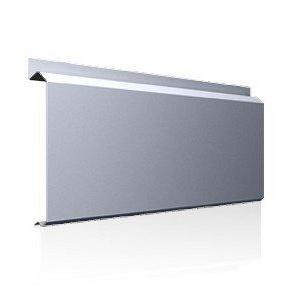 Фасадна лінійна система Ruukki Lamella CL20 1,2 мм (RAL7040/сіре вікно)