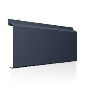 Фасадна лінійна система Ruukki Lamella CL20 1,2 мм (RAL7015/сірий сланець)