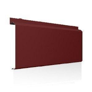 Фасадна лінійна система Ruukki Lamella CL20 1,2 мм (RAL3009/оксид червоний)