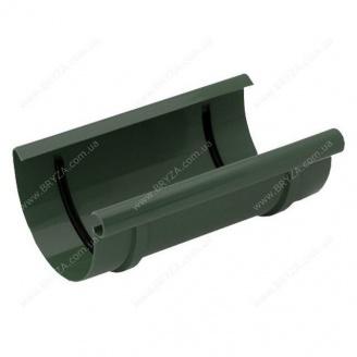 Муфта желоба Bryza 125 127х94х240 мм (зеленый / RAL 6020)