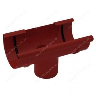 Воронка желоба сливная Bryza 150 300х110 мм красный RAL 3011