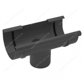 Воронка желоба Bryza 150 150х115х300х110 мм графит RAL 7021