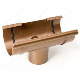 Воронка желоба Bryza 125 125х94х280х90 мм (медь)