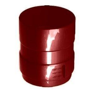 Соединитель трубы Galeco SP100 100 мм (SP100-MU-A) (RAL3004/пурпурно‐красный)