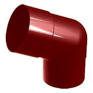 Колено 45° Galeco SP100 100 мм (SP100-KO045-P) (RAL3004/пурпурно‐красный)