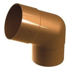 Колено 45° Galeco SP100 100 мм (SP100-KO045-P) (RAL8004/медно-коричневый)