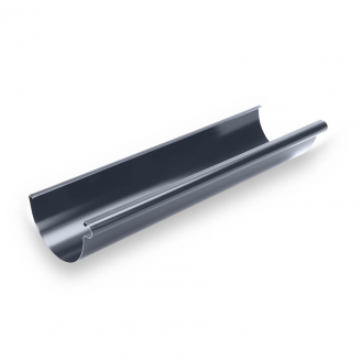 Желоб Galeco STAL135 135 мм 3 м (RS135-RY300-G) (RAL7015/графит RR23)
