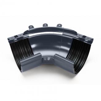 Угол внешний регулируемый 100-165° Galeco STAL135 135 мм (RS135-LZREG-G) (RAL7015/графит RR23)