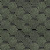Битумная черепица Shinglas Финская 2,9х317х1000 мм зеленый