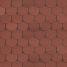 Битумная черепица Shinglas Классик Танго 3х333х1000 мм красный