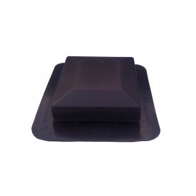 Аэратор кровельный ІКО Armourvent Standard 110х430х450 мм коричневый