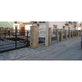 Виготовлення металевого паркану