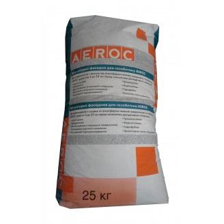 Фасадна штукатурка AEROC для газобетону полегшена 20 кг