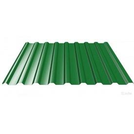 Профнастил кровля ПК-18 1180 мм зеленая