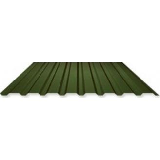 Профнастил стеновой ПС-18 1180 мм зеленый