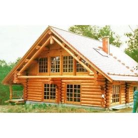 Будівництво будинку з оциліндрованого бруса