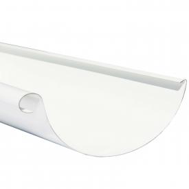 Жолоб Акведук Стандарт 125 мм 4 м білий RAL 9003