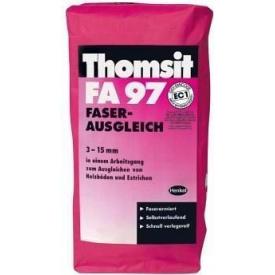 Самовирівнююча суміш, армована мікроволокнами Thomsit FA 97 25 кг