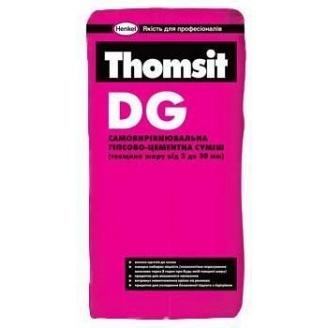 Самовыравнивающаяся гипсово-цементная смесь DG 25 кг 3-30мм