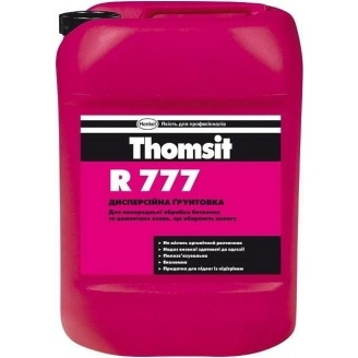 Дисперсійна грунтовка R 777 10 кг для підготовки мінеральних основ