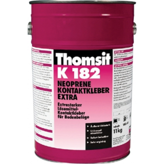 Контактный неопреновый клей Thomsit K 182 Extra 5 кг