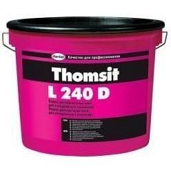 Водно-дисперсионный клей Thomsit L 240 D 14 кг для натурального линолеума