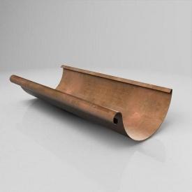 Жолоб напівкруглий JB Roofart Copper 125 мм 3 м мідний