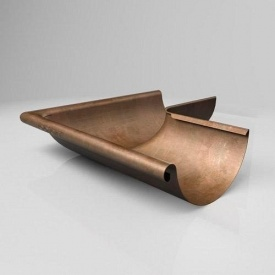 Наружный угол KE Roofart Scandic Copper 125 мм 135 градусов медный